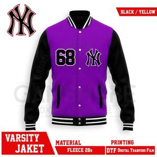 Áo khoác bóng chày màu đen CLUB BASEBALL NEW YORK ORIGINAL DXPRO thumbnail