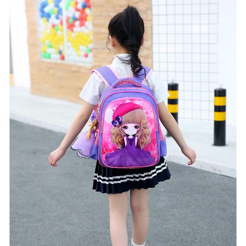 Balo học sinh trẻ em siêu nhẹ Hưng Việt lớp 1-lớp 6