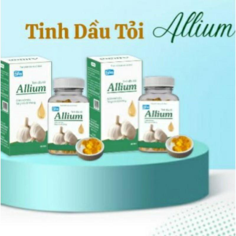 Tinh dầu - Tinh dầu tỏi Allium