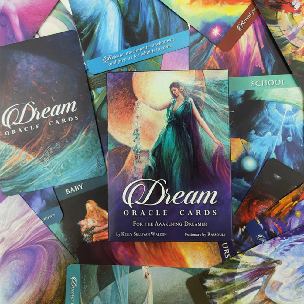 [Rollingstone]50PCS Dream Oracle Cards Tarot Cards Table Game Cards
