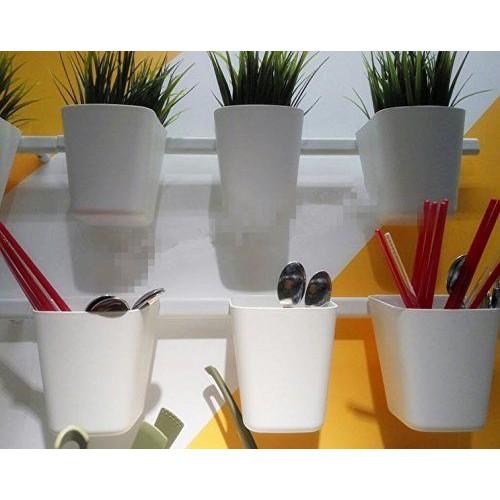 Combo 1 thanh treo + 1 bộ móc treo + 1 rổ Ikea Sunnersta