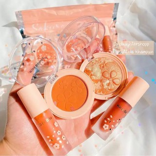 Set Trang Điểm Make Up Cao Cấp 4 Món Sakura Kiss Beauty Mys Cosmetics