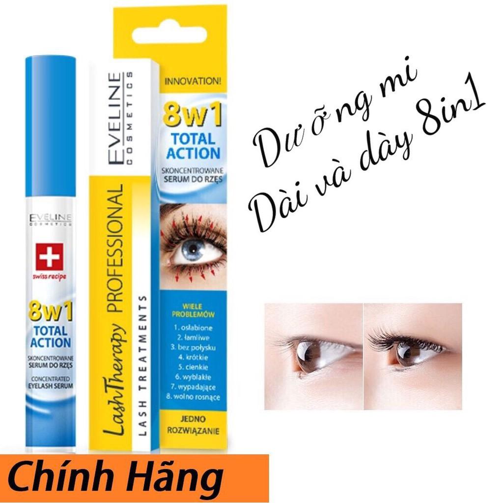 Huyết Thanh Dưỡng Mi Dài & Dày Eveline 8 in 1