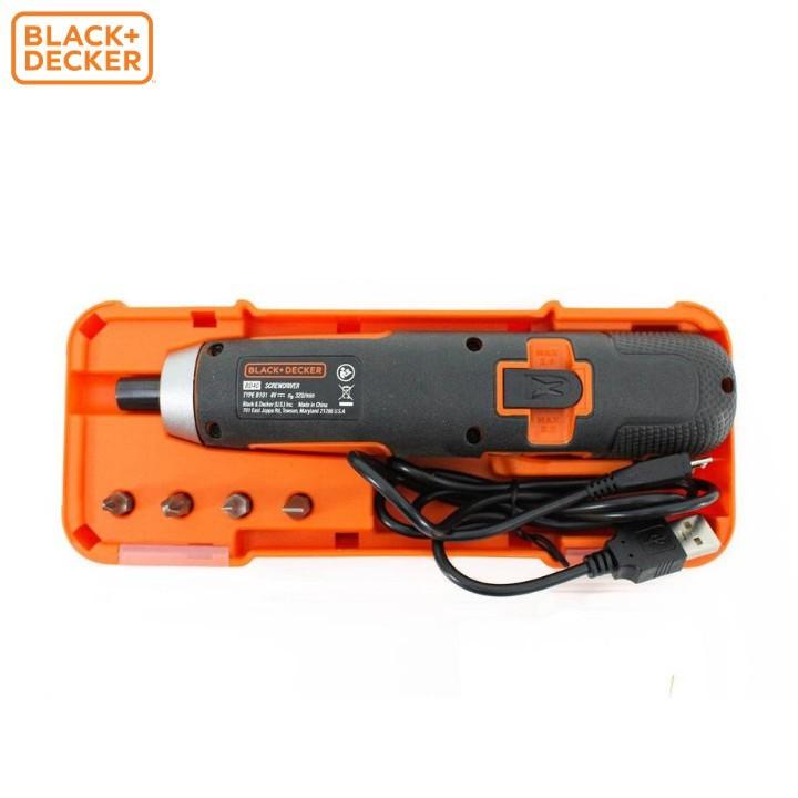 Máy vặn vít cầm tay 4V Black & Decker BD40K4-B1 | Shopee Việt Nam