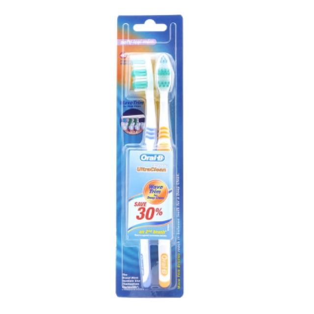 Vỉ 2 bàn chải đánh răng Oral-B Classic Ultraclean - 2534569 , 386161955 , 322_386161955 , 26000 , Vi-2-ban-chai-danh-rang-Oral-B-Classic-Ultraclean-322_386161955 , shopee.vn , Vỉ 2 bàn chải đánh răng Oral-B Classic Ultraclean