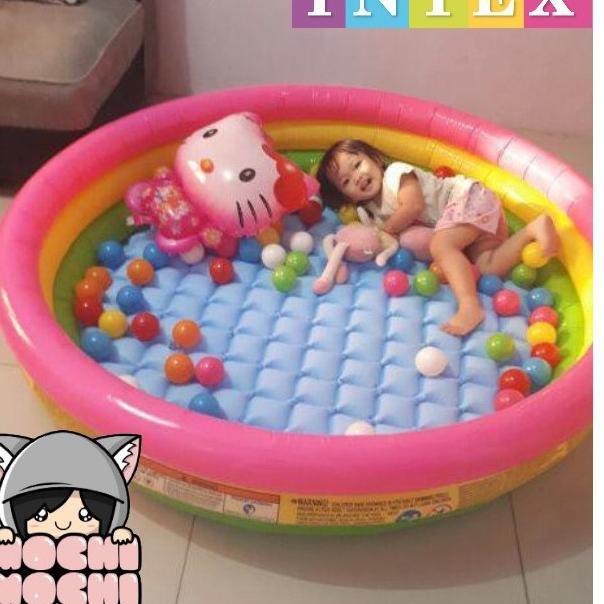 '➛ Bể bơi cầu vồng 147cm x33cm INTEX ★★★ Wtg