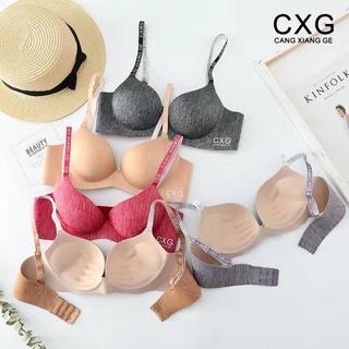 Áo lót nữ su đúc CXG áo ngực không gọng nâng ngực A05