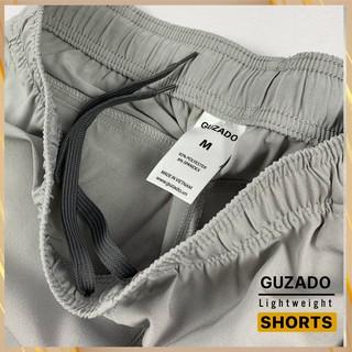 Hình ảnh Quần đùi nam Guzado phong cách thể thao khỏe khoắn, chất gió mềm siêu mịn, co giãn tốt, vận động thoải mái GSR01-5