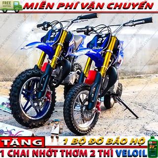Cào cào mini 50cc ( Bánh Lớn ) | moto ruồi 49cc trẻ em gắn máy cưa chạy bằng xăng pha nhớt 2 thì