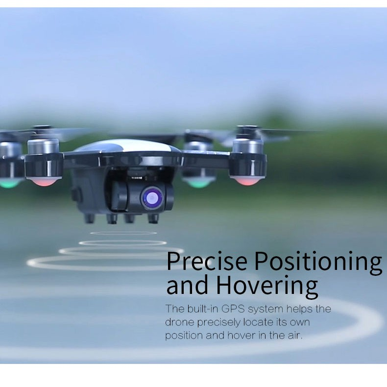 JJRC X9 RC Quadcopter, Brushless 5G WiFi FPV RC Drone GPS Positioning Altitude Hold 1080P Camera