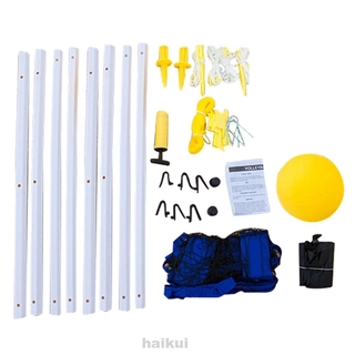 Professional Foldable Accessories Training Tennis Badminton Adjustable Height Outdooor Sports Volleyball Net Set