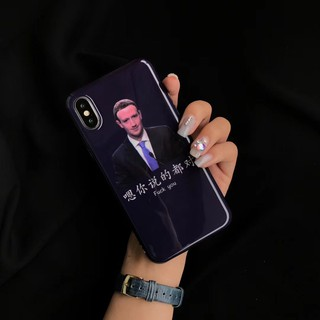 Phone case iphone X 7 8 plus 6 6s plus hard fashion cover IMD facebook
