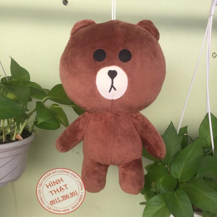 Gấu bông brown 35cm dễ thương