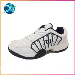 HOT Giày tennis Wilson nam cao cấp chống lật cổ chân, màu trắng, đủ size | Hot He 2020 | Cực Đẹp . 2020 👟 2020