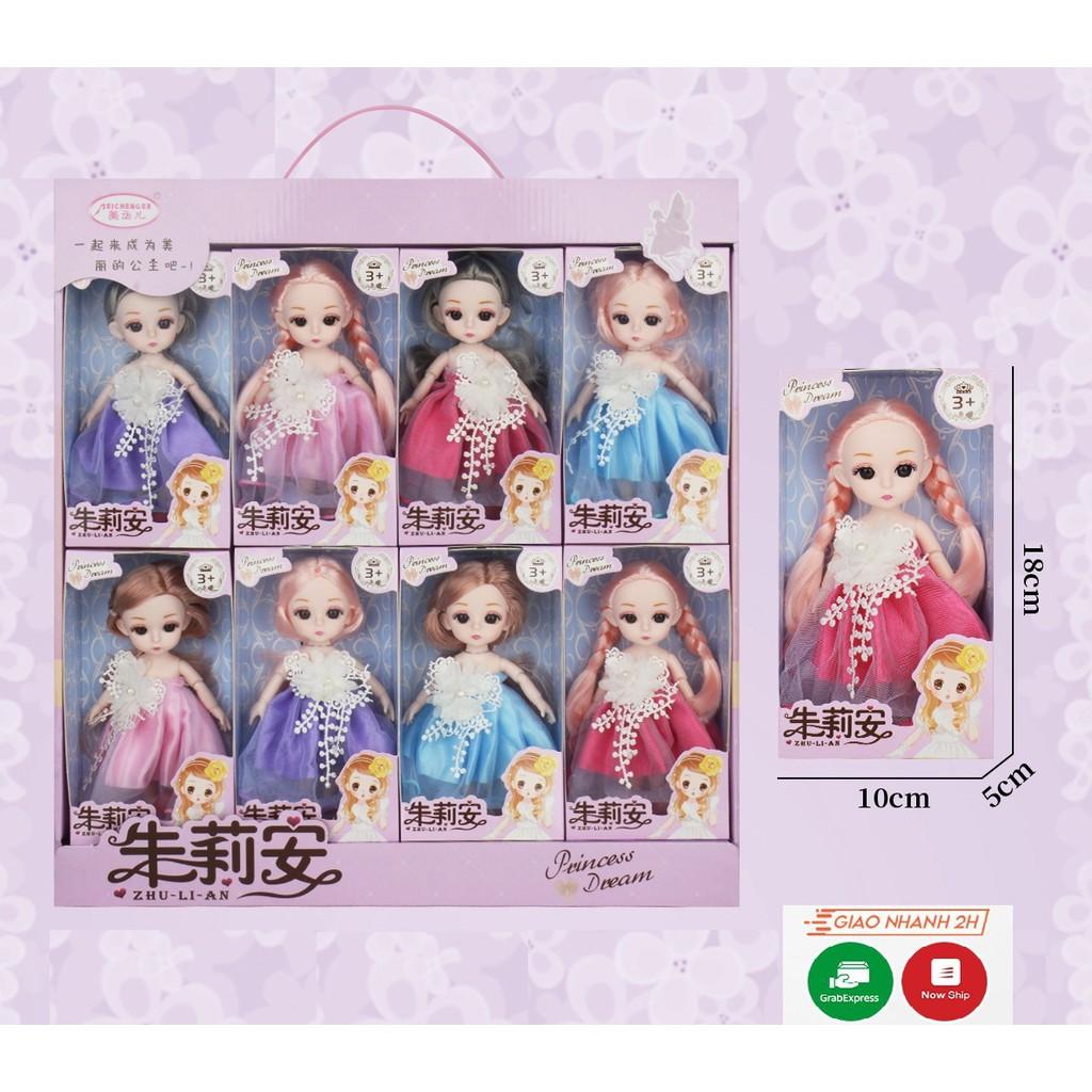 Bộ sưu tập búp bê babie vô cùng dễ thương cho các bé gái tại Hà Nội