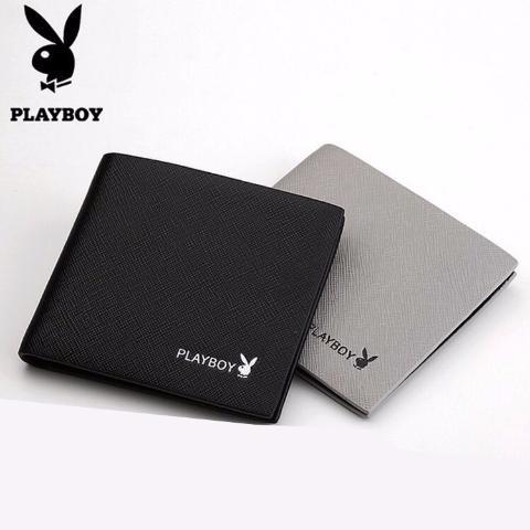 Ví Da Playboy Siêu Mỏng Trẻ Trung Nam Tính