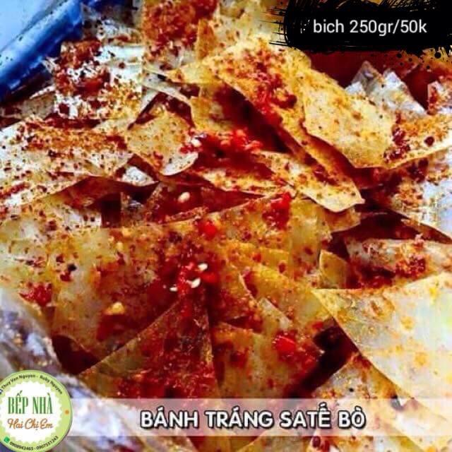 Bánh tráng satế khô bò 120k /kg