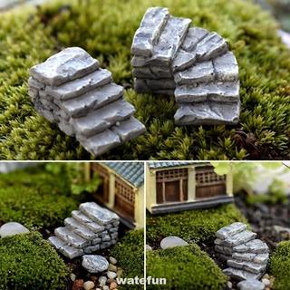 Mô Hình Cầu Thang Mini Bằng Nhựa Resin Dùng Trang Trí Nhà Cửa / Sân Vườn