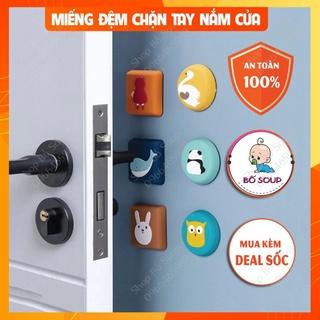 Miếng chặn cửa, xốp chặn cửa chống sập an toàn cho bé Shop Bố Soup thumbnail