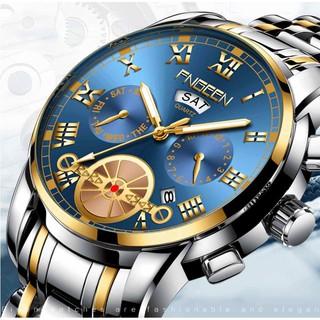 Đồng hồ nam FNGEEN GC01 mặt giả cơ kiểu dáng đẳng cấp sang trọng