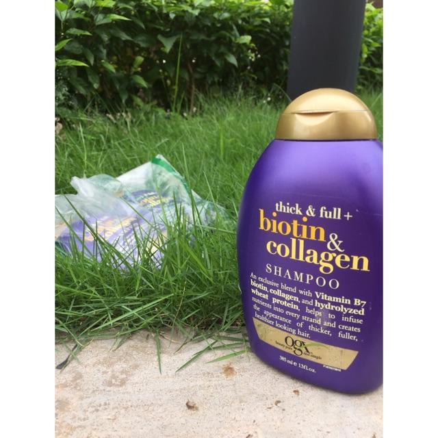 DẦU GỘI Biotin and Collagen - 3095725 , 458957670 , 322_458957670 , 270000 , DAU-GOI-Biotin-and-Collagen-322_458957670 , shopee.vn , DẦU GỘI Biotin and Collagen