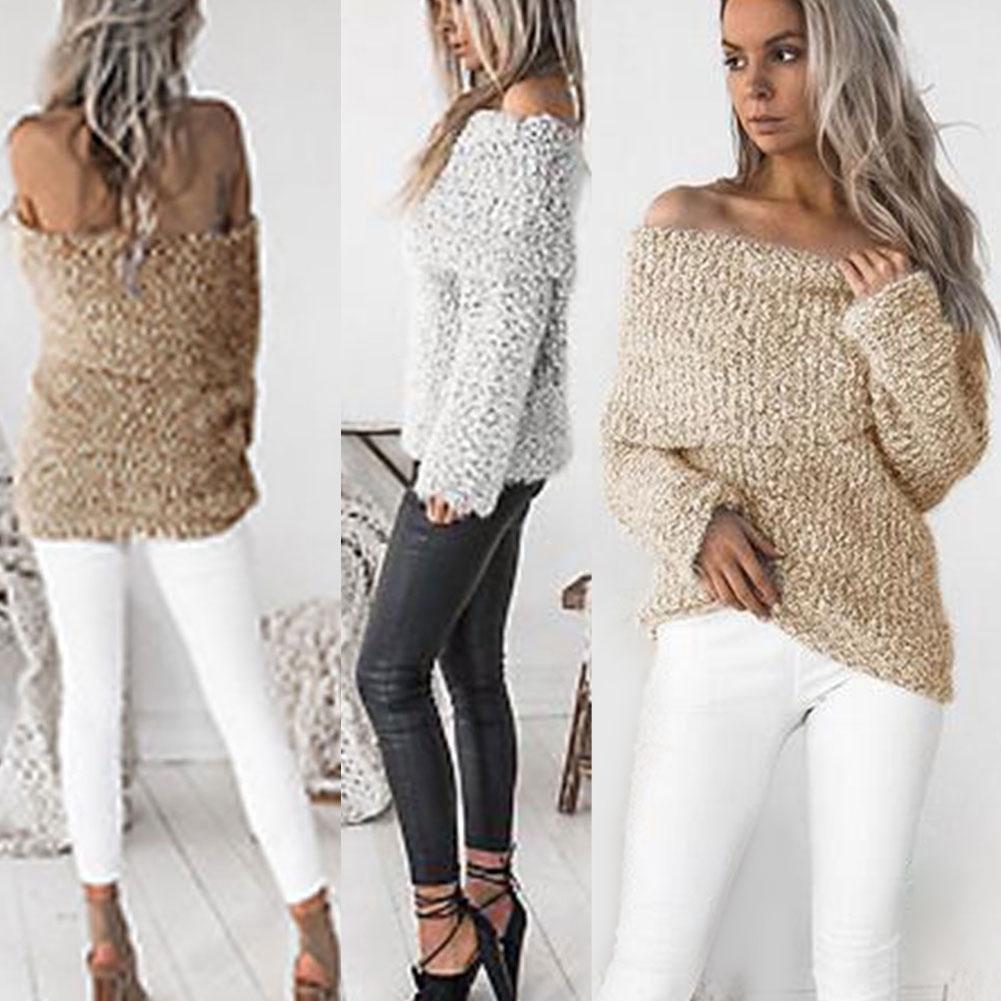CHIC inverno maglione donna lungo maglia manica pullover giacca moda