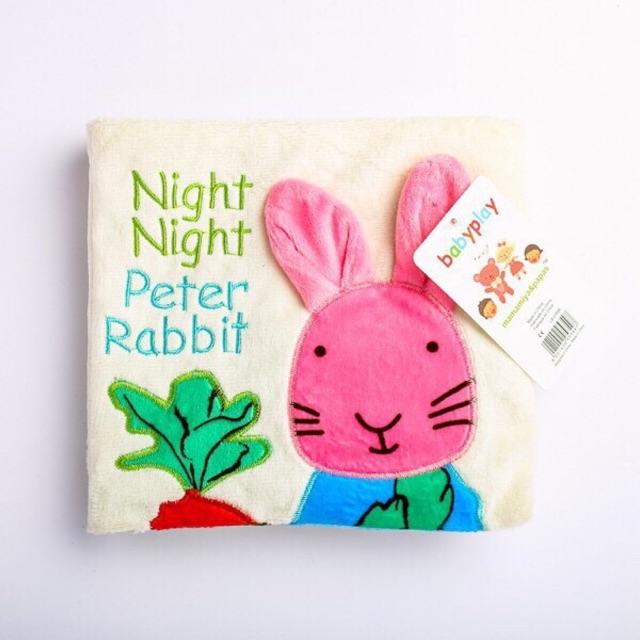 SÁCH VẢI KÍCH THÍCH ĐA GIÁC QUANG NIGHT NIGHT PETER RABIT
