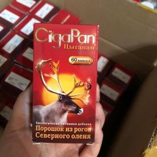 Nhung hươu Cigapan xuất xứ Nga