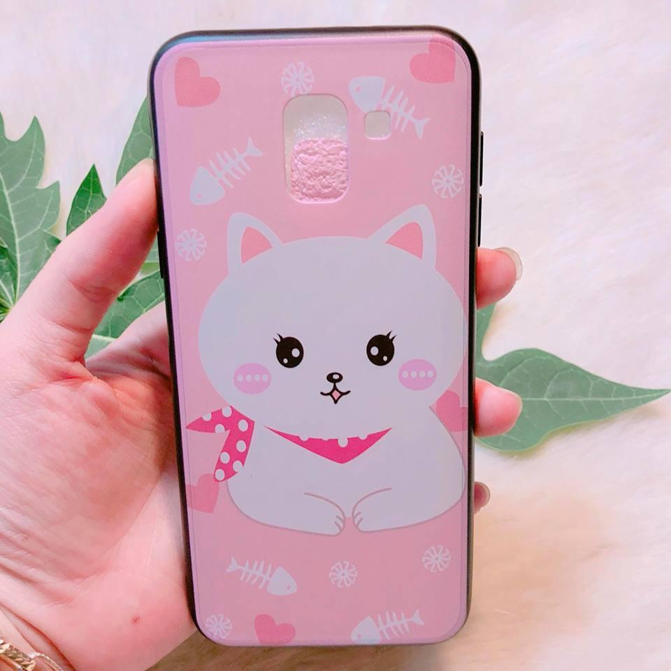 Ốp Samsung J6 2018 họa tiết cute