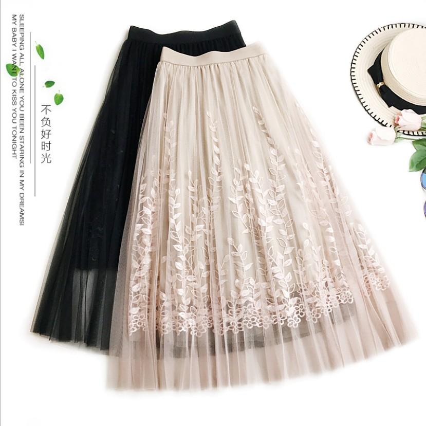 Chân váy dài ren thêu taobao loại 1 - 2925725 , 1036271363 , 322_1036271363 , 330000 , Chan-vay-dai-ren-theu-taobao-loai-1-322_1036271363 , shopee.vn , Chân váy dài ren thêu taobao loại 1