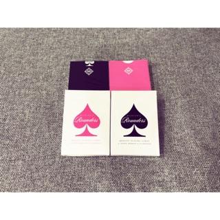 Bộ bài tây Rourder Playing Card [ Hàng Mỹ ]
