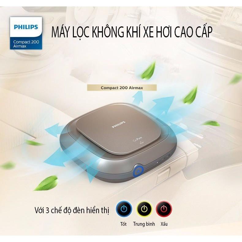 Máy lọc không khí trên oto, xe hơi Philips GoPure MaxAir 200 (Bảo vệ Phổi) - 10026414 , 717944726 , 322_717944726 , 3600000 , May-loc-khong-khi-tren-oto-xe-hoi-Philips-GoPure-MaxAir-200-Bao-ve-Phoi-322_717944726 , shopee.vn , Máy lọc không khí trên oto, xe hơi Philips GoPure MaxAir 200 (Bảo vệ Phổi)