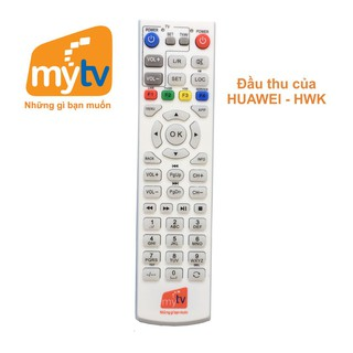 Điều khiển đầu thu My TV của hãng HUAWEI - ZTE và SmartBox.