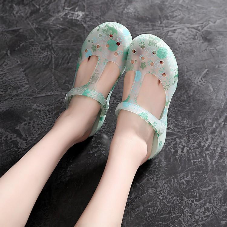 VEBLEN quầy giày lỗ chính hãng- giày nữ bãi biển mùa hè- giày chống trượt-  dép đi biển- Dép y tá đi trong bệnh viện