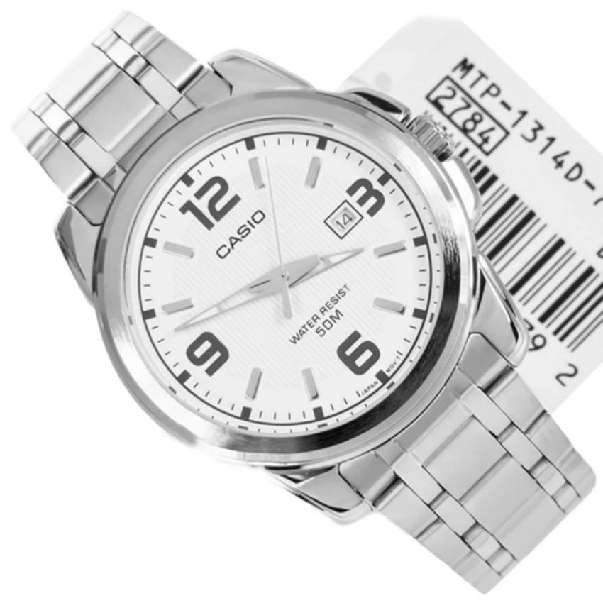 Đồng hồ nam dây kim loại Casio chính hãng Anh Khuê MTP-1314D-7AVDF