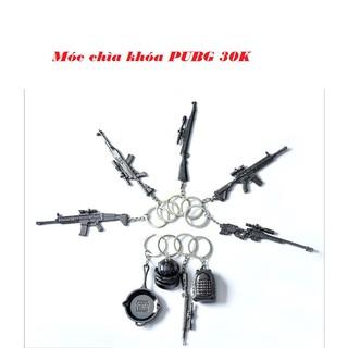 Móc chìa khóa PUBG 30k/chiếc (Mũ, Balo, Chảo, SCAR-L, AWM, KAR98, SKS, M416