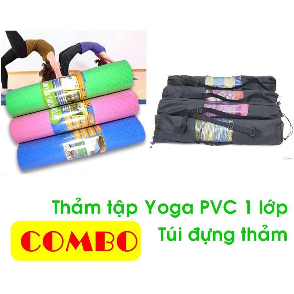 Thảm tập yoga Getfit Gym & Yoga kèm túi đựng thảm - 22542688 , 1443920160 , 322_1443920160 , 200000 , Tham-tap-yoga-Getfit-Gym-Yoga-kem-tui-dung-tham-322_1443920160 , shopee.vn , Thảm tập yoga Getfit Gym & Yoga kèm túi đựng thảm