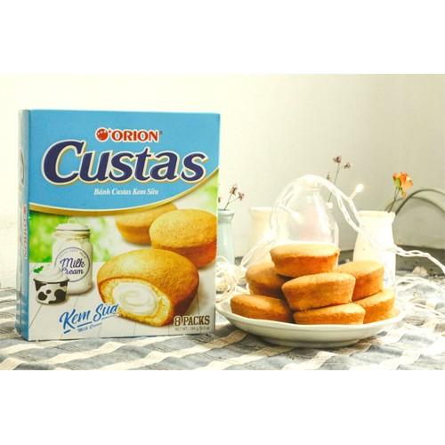 Bánh Custas Orion nhân kem trứng, kem sữa 12 cái - 2477637 , 259411543 , 322_259411543 , 55000 , Banh-Custas-Orion-nhan-kem-trung-kem-sua-12-cai-322_259411543 , shopee.vn , Bánh Custas Orion nhân kem trứng, kem sữa 12 cái
