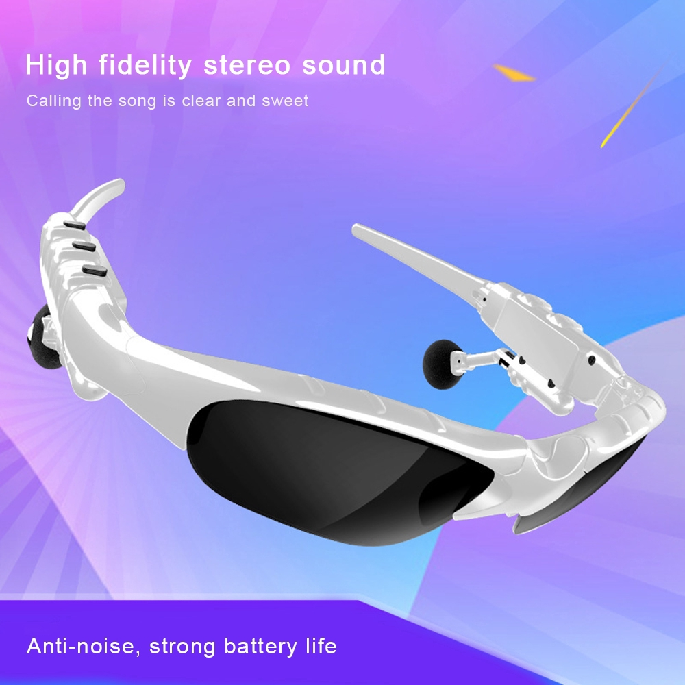 Fashion Sunglasses Bluetooth 5.0 Earphone Headset X8S Headphones Smart Glasses [EXO1]