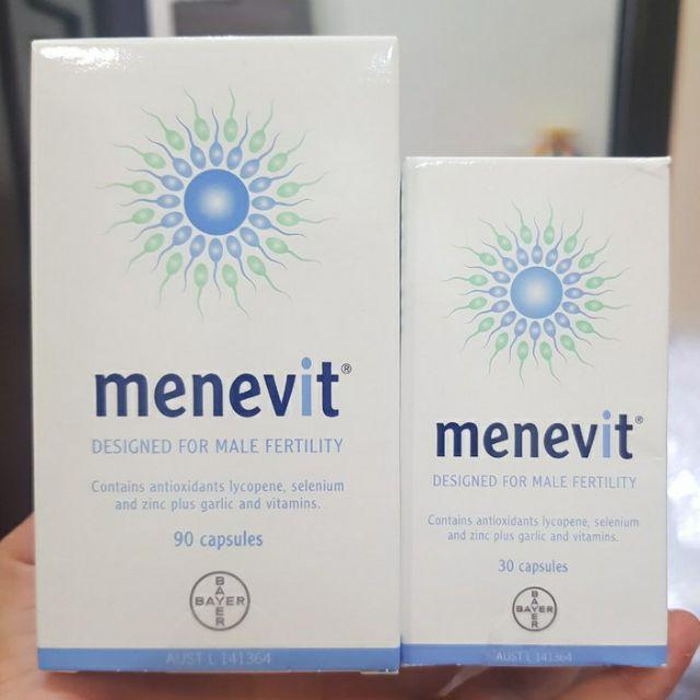 [Chính hãng]Viên uống tăng chất lượng tinh trùng Menevit - Úc
