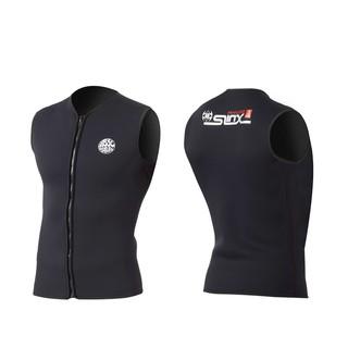SLINX 3MM Neoprene Wetsuit Diving vest full-fleece wetsuit wetsuit sleeveless scuba diving snorkeling surfing vest