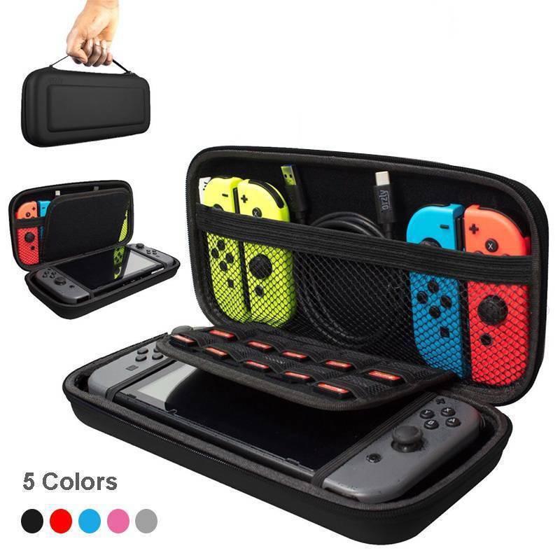 Hộp cứng đựng tay cầm chơi game Nintendo Switch có 10 ngăn đựng thẻ game |  Shopee Việt Nam