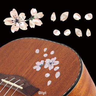 Guitar Sticker Self Adhesive Bass Cute Decals Decoration Mini Ukulele Floral Body