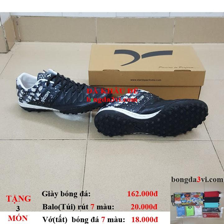 giày đá bóng SEGA.001 ( Tặng + balo(túi) rút + vớ(tất) )