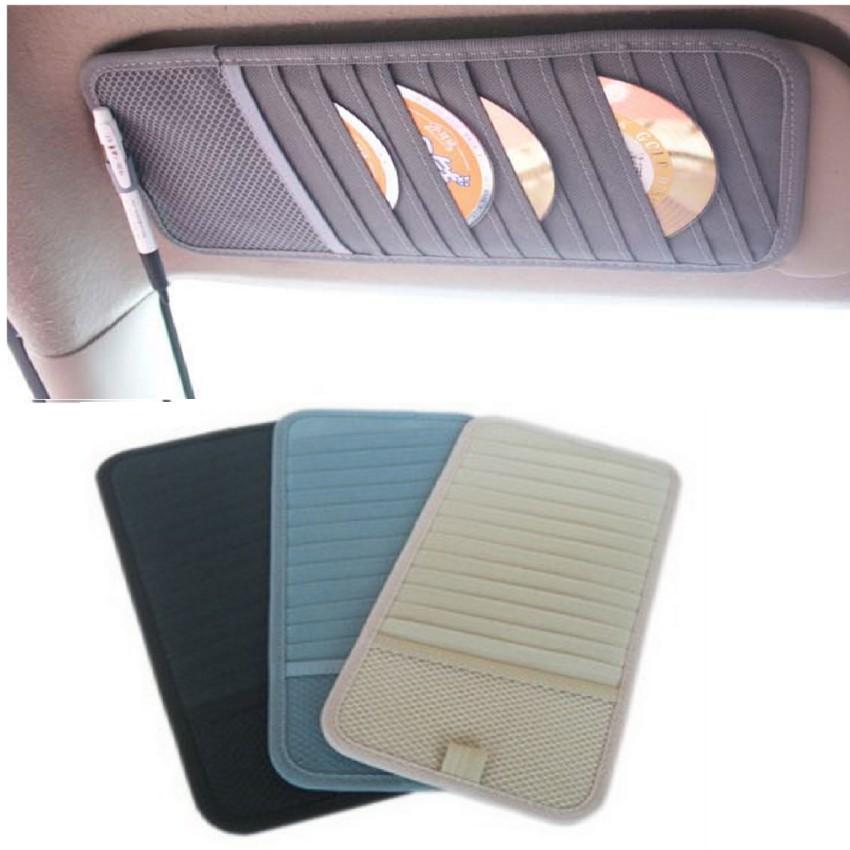 Bộ 3 túi kẹp đĩa CD ô tô gọn đẹp HQ206055