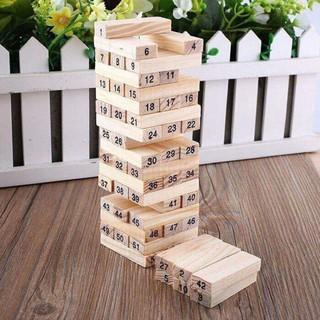 Bộ đồ chơi rút gỗ 54 thanh giá rẻ shop oanh