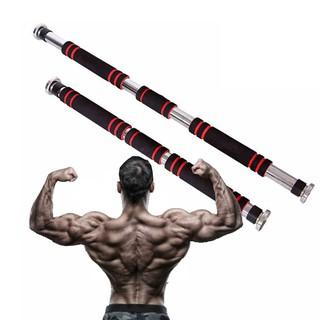 Thanh tập xà đơn treo tường gắn cửa nhiều cỡ từ 62-150cm kích thước có thể tùy chỉnh phù hợp tập gym tại nhà tăng cơ bắp