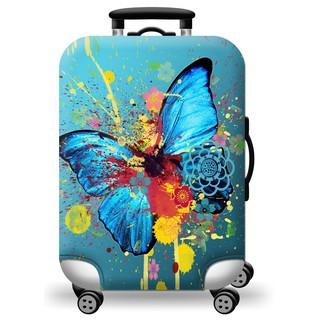 Túi bọc vali co giãn cao cấp hình bướm[ Hàng có sẵn ] thumbnail