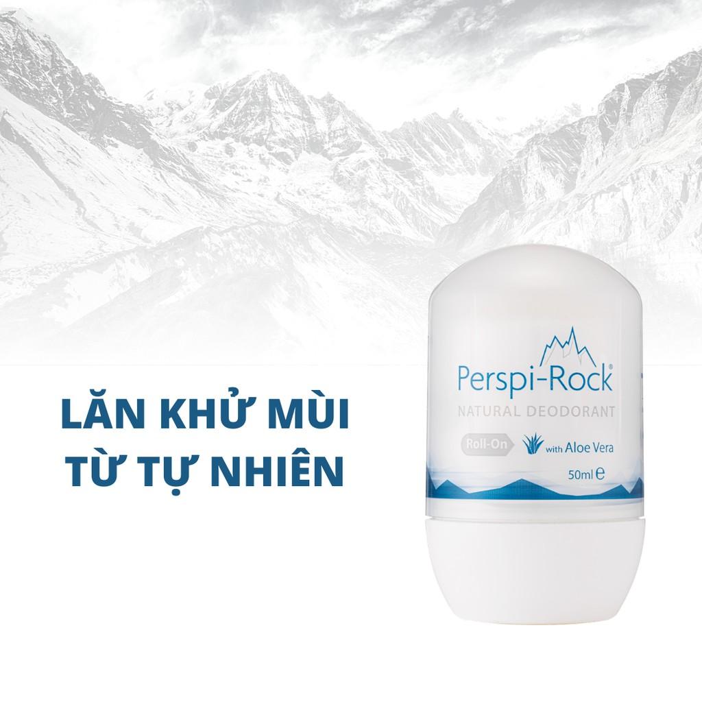 Lăn khử mùi từ thiên nhiên Perspi-Rock Natural Deodorant Roll On 50ml    Shopee Việt Nam