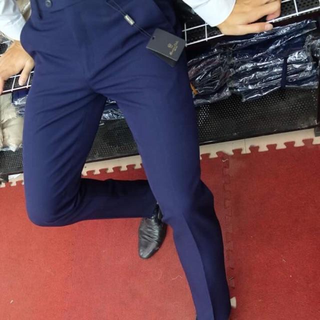 quần xanh than vải nhập cao cấp